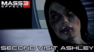60FPS - Mass Effect 3  - Second Visit Ashley Williams