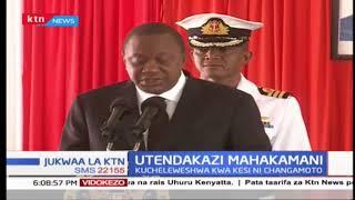 Jaji Mkuu David Maraga asema mahakama itajitahidi