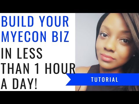 MyEcon | Build Your MyEcon Business in Less than 1 Hour a Day! ⏱💰