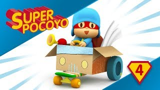 Super Pocoyo has become a recycling Superhero