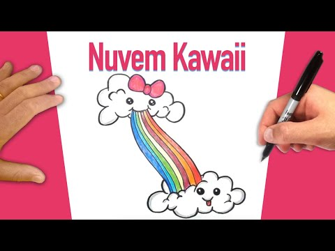 Nuvem fofinha Kawaii