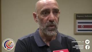 El director técnico de LaSeleSub20 Marcelo Herrera analiza el debut de la