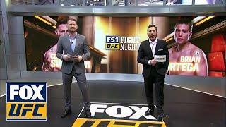 Cub Swanson vs Brian Ortega preview | UFC Tonight