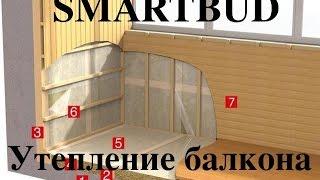 Теплый пол на лоджии. Утепление балконов и лоджий своими руками | SMARTBUD