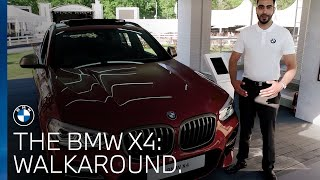 BMW X4 walk around at the BMW PGA Championship 2018.