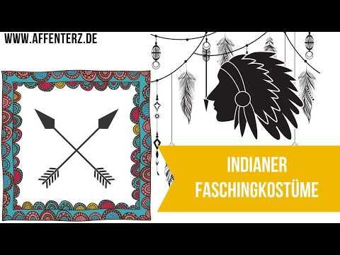 Faschingskostüme Indianer Kinder - Wild West als Kostüm in der fünften Jahreszeit