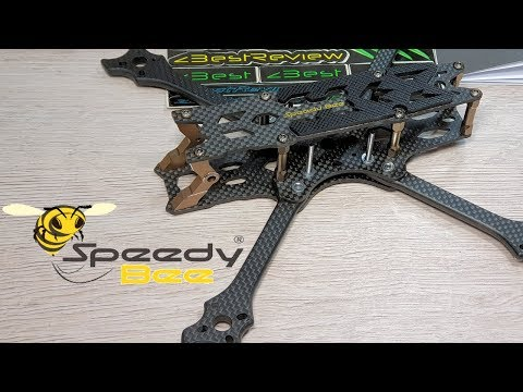 ✔ Премиум Рама для FPV Freestyle Квадрокоптера Speedy Bee 225mm 5mm!