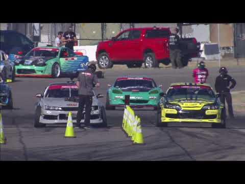 フォーミュラ・ドリフト ダラス(テキサス)第5戦トップ16の追走ドリフトトーナメントの無料ライブ配信動画(PRO)
