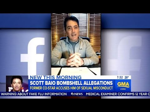 Scott Baio Responds To Baywatch Nicole Eggert's Allegations (GMA)