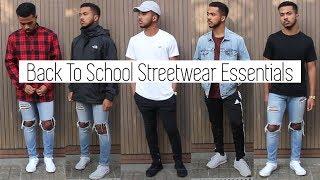 My Top 10 Back To School Streetwear Essentials || High school & College 2017