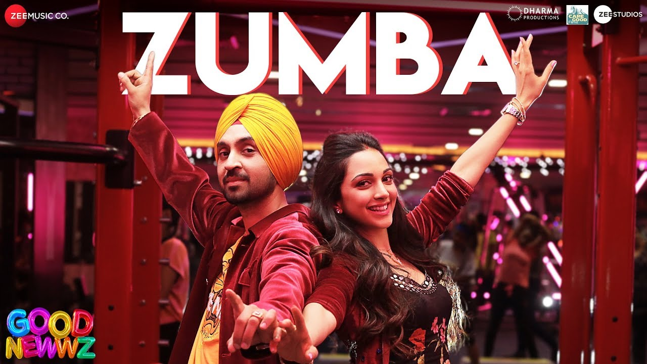 Zumba New Hindi Song Lyrics - Good Newwz - Romy Lyrics