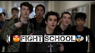 Fight in school (don't touch me and my friends) 😈movie + music 😈