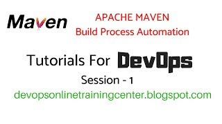 Maven Tutorials for Beginners | DevOps in Apache Maven Repository 1