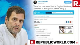 Did Rahul Gandhi Lie On 'Modilie'? It's His 'Dictionary' Versus The Rest