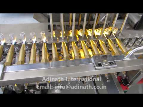 Eight Head Ampoule Filling and Sealing Machine