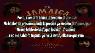 El Alfa X Farruko X Darell X Myke Towers X Big O - Pa Jamaica Remix | Letra