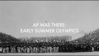AP Was There: Early Summer Olympics