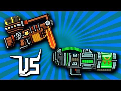 OFFENSIVE CATAPULT [vs] FATAL MELTER - Pixel Gun