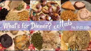 What's for Dinner? COLLAB! & OMORC Air Fryer!!! Feb. 17-23, 2019