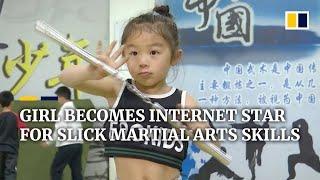 Chińska dziewczyna staje się gwiazdą internetu dzięki swoim umiejętnościom sztuk walki