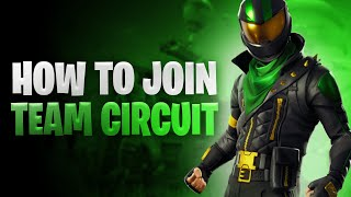 How to join TEAM CIRCUIT in 2021!