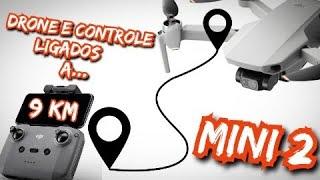 DJI MINI 2 - Tentei CONECTAR o Controle ao Drone a 9 KM de DISTÂNCIA