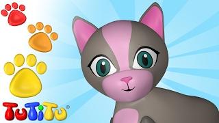 TuTiTu Animals | Animal Toys for Children | Cat and Friends