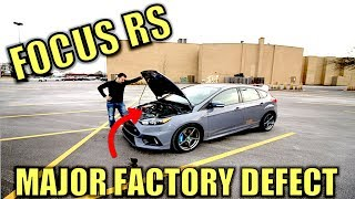 The Ford Focus RS Engine is Seriously Bad & Ford Had to Know. This one Locked Up!