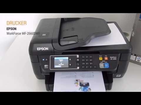 Epson WorkForce WF-2660DWF Hands On Test - Deutsch / German ►► notebooksbilliger.de