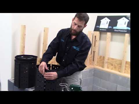 Sump Pump Bucket – Info and Assembly