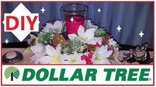 Dollar Tree Christmas Centerpieces DIY