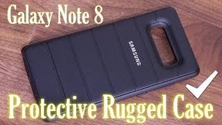 Official Samsung Galaxy Note 8 Protective Cover Case Review
