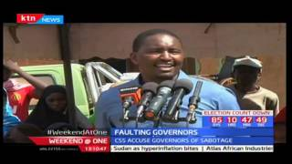 Jubilee warns Hassan Joho against interfering with government projects