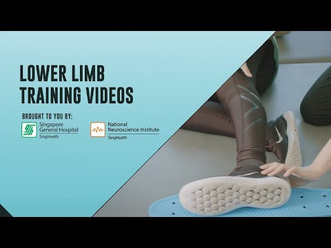 ​Post-Stroke Exercises (Lower Limb Strength Training)