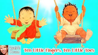 📚 Kids Book Read Aloud: TEN LITTLE FINGERS AND TEN LITTLE TOES By Mem Fox And Helen Oxenbury