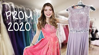 prom dress shopping 2020