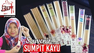 Souvenir Sumpit Kayu Polos Ready stok Review by zeropromosi