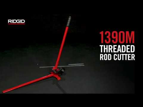RIDGID 1390M Threaded Rod Cutter