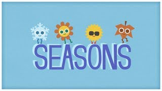 Time: Four Seasons, The Seasons Of The Year By StoryBots | Netflix Jr
