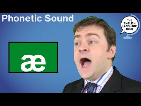 The /æ/ Sound