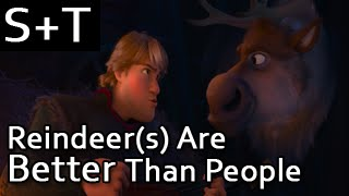 Frozen - Reindeer(s) Are Better Than People - Hebrew (Subs+Translation) [HQ]