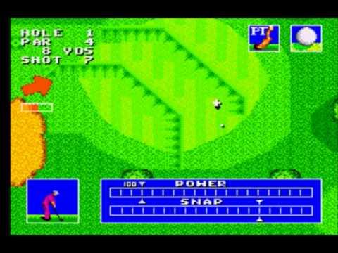 Sega Master System - Sega World Tournament Golf