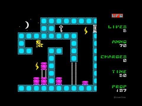 UFO Walkthrough, ZX Spectrum
