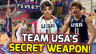 """Kenneth Lofton Jr. Went From UNRANKED TO GOLD MEDALIST! Chet Holmgren Called Him The """"REAL MVP""""! 🏆"""