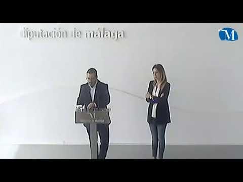Rueda de prensa de la portavoz del PSOE de Diputación Antonia García y el diputado Manuel Chicón