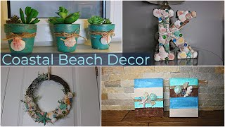 DIY Summer Decor Ideas/DIY Coastal Beach Decor