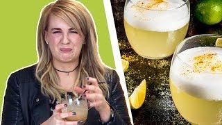 Irish People Taste Test Sour Drinks