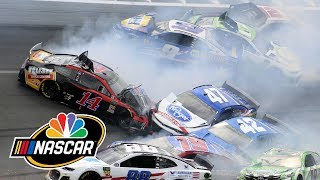 Coke Zero Sugar 400 At Daytona Turning Point: Dillon, Bowyer Cause Major Wreck | Motorsports On NBC