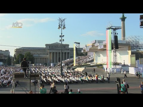 Budapest : des pèlerins des cinq continents réunis par l'Eucharistie