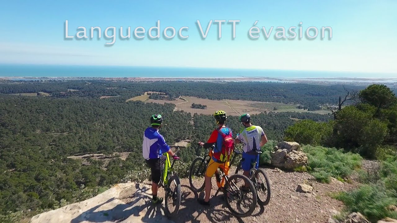Languedoc VTT Evasion dans la Clape